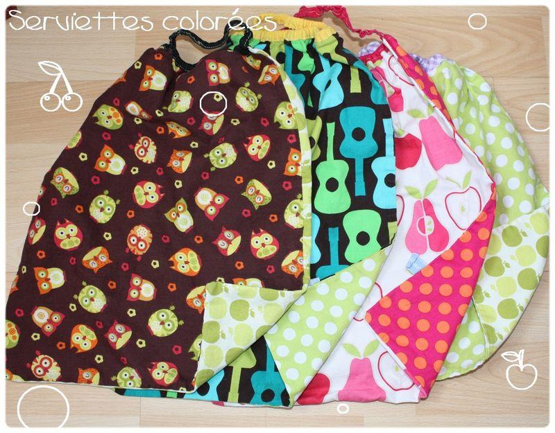 tuto couture serviette de table